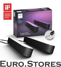Philips Hue Play Set 2x White & Colour Ambiance Bar LED Table Lamps A++