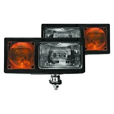 New listing Wolo Snow Bright Bolt-on Mount Amber/White Halogen Snow Plow Lights