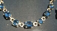 Cache Earring + Necklace New Dangle Event Chunky Gemstone Adjust Chain LOT 2 $98
