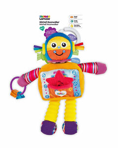 Tomy Lamaze Mitchell Moonwalker Robot Pram Buggy Cot Hanging Baby Toy