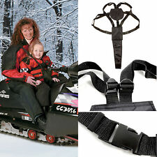 2FastMoto Child Harness Snowmobile Passenger Strap Youth Rider Kids Arctic Cat