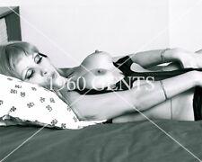 1960s NUDE 8X10 PHOTO BUSTY BIG NATURAL BOOB SABINA PINUP  FROM ORIGINAL NEG-1