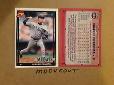 HISASHI IWAKUMA #266 Mariners JAPAN MVP 2016 Topps Archives 1991 5x7 #ed/49 made