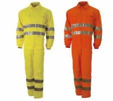 Suit High Visibility' Aid Road Dustmen 2 Colours Blue Tech