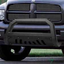 Topline For 2002-2009 Dodge Ram AVT Bull Bar Bumper Grille Guard -Textured Black