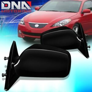 FOR 2004-2008 TOYOTA SOLARA PAIR OE STYLE POWERED SIDE DOOR MIRROR REPLACEMENT