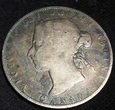 1892 CANADA 50 CENTS -OBVERSE # 3