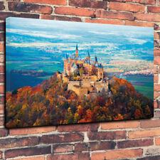 """Harry Potter Poudlard Château Boîte Imprimée Toile Photo A1.30""""x20"""" 30 mm Deep"""