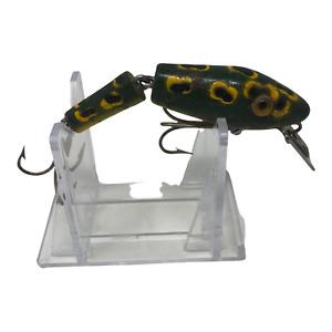 Vintage L & S  Mirrolure  Panfish Sinker Frog Jointed Lure
