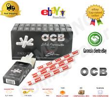 Filtri OCB Ultra Extra Slim 5,7mm Stick PREMIUM Box10 20 Scatoline Da 120 Filtri