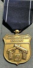 U.S. Coast Guard Expert Pistol Shot Medal & Ribbon Original