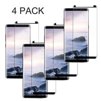For Samsung Galaxy S9 S8 Plus Note8 Tempered Glass Screen Protector Guard 9H Lot