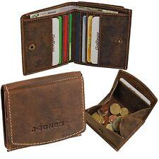 fd72f64c225da J.Jones Herren Geldbörse Leder Geldbeutel Echtleder Börse Wiener Kiste 5492  neu