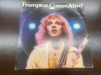 Peter Frampton Comes Alive Vinyl Record Double Lp Gatefold