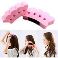 EASY Hair Twister Plait Braid Braider Styling Accessory Sponge Tool Roller