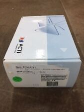 Tcm 5111 Acti 13mp Ip Box Camera 42mm Lens Dn H264 New On Hand Security