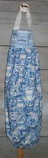 Delft Blue Teacups Flowers Tea Varities Plastic Grocery Bag Rag Sock Holder