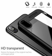 IPX iPhone Apple X Ultra Slim Case Cover Design Premium Custodia Protettiva cristallino