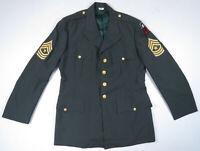 Vintage US Army Vietnam Tropical AG-344 Class 3 DSA-71-C-0932 Uniform Jacket 42L