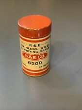 Vintage Keuffel & Esser Co. K&E Surveying Stainless Steel Spads 6500 Made In Usa