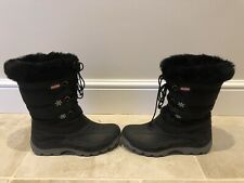 Ladies Olang 'Patty' Black Snow Boots, UK Size 5, VCG