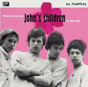 JOHN'S CHILDREN THERE'S AN EYE IN THE SKY NEW SEALED COLOURED VINYL LP IN STOCK