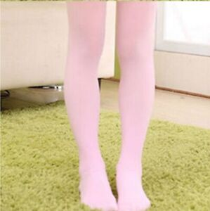 Professional Kids Girl's Pink Ballet Dance Tights FULL FOOT