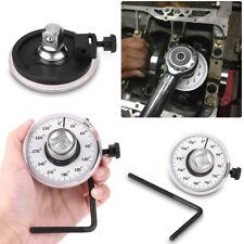 Adjustable 1/2'' Drive Torque Wrench Angle Gauge Angle Rotation Car Garage Tools
