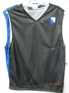 Starter SET/2 Black/Gray & Blue/Navy Reversible V-Neck Muscle Tee Size XL(14/16)
