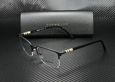 Burberry BE1323 1213 BLACK RUBBER DEMO LENS 54 mm Men's Eyeglasses