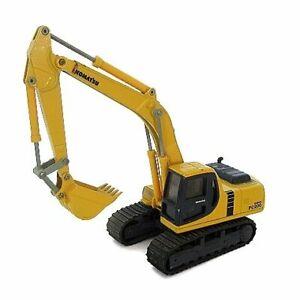 KOMATSU PC200 Power Shovel K-004 Diecast Yellow 1/43 Scale Used JP seller