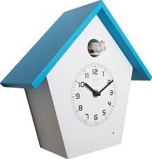 Coucou Quartz Horloge de Cuisine Conception moderne Coloré Birdy Bleu Nextime