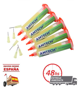 Flux AMTECH NC-559-ASM BGA PCB No-Clean soldadura limpia indispensable reballing