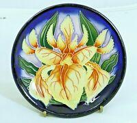 Beautiful Moorcroft 'Windrush' Pattern Coaster/Pin Dish! Made in England!!