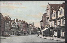 Gloucestershire Postcard - Church Street, Tewkesbury  A5577