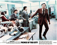 Prince of the City original lobby card Jerry Orbach in police station