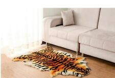 Sheepskin Fur Australia Tiger Skin Carpet Rug Soft Fluffy Plain Mat Chair Sofa