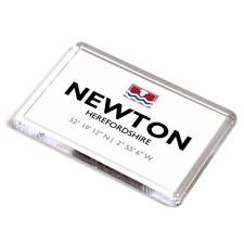 FRIDGE MAGNET - Newton, Herefordshire - Lat/Long SO3769