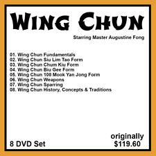 Augustine Fong's Mastering Wing Chun Series (8 DVD Set)