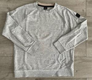 HUGO BOSS - Sweatshirt - Gr. L - Grey Melange