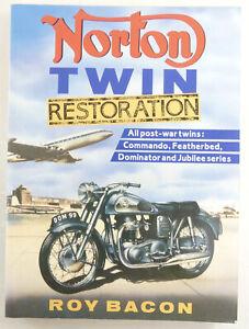 Norton Twin Restoration By Roy Bacon. Excellent Condition