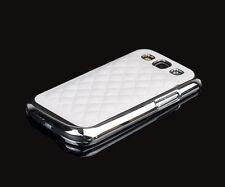 Hülle f Samsung Galaxy S3 i9300 Schutzhülle Tasche Case  Leder-Imitat weiß weiss