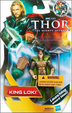 "KING LOKI ( 4"" ) VERY RARE VHTF ( 2010 ) MARVEL ( THOR ) MOVIE ACTION FIGURE"