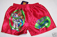Disney Toy Story Buzz & Woody Boys Red Printed Boxer Shorts Size 6 New