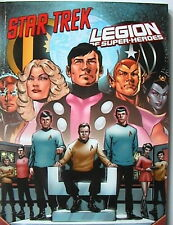 DC brochée 60 softcover: star trek/Legion of super-Heroes (panini 2013) NEUF