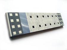 Fliesenbordüren 20x4,7cm Fliesenbordüre Wandbordüren Bordüre Karina grau blau