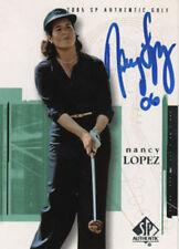 Nancy Lopez LPGA Golf 2005 Upper Deck Signed Card COA!