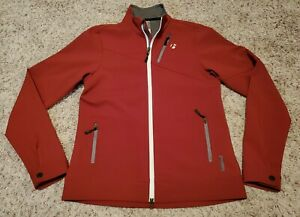 Bontrager Women's MTB Softshell Cycling Jacket Maroon Size Medium M  #9214