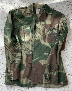 Rhodesian - Brushstroke Camouflage Shirt - Statesman - Bush War - Named 7 Troop