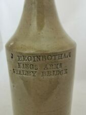 More details for victorian slip glaze bottle kings arms staley bridge advertising